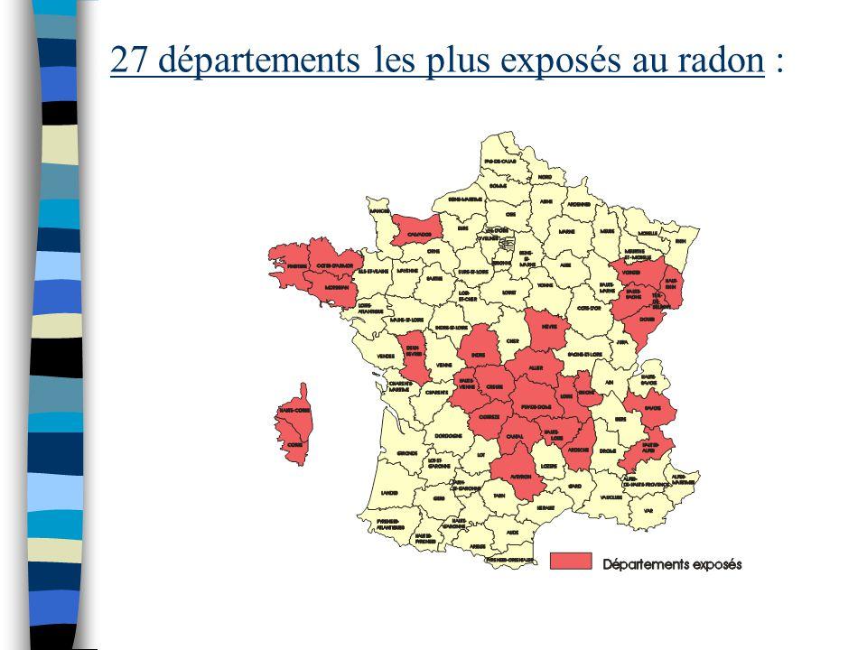 EXPOSITION : En Corse, l 'exposition au radon est plus importante