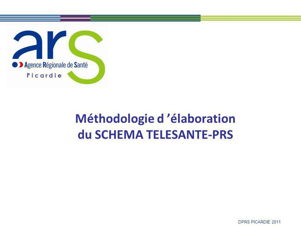 P i c a r d i e DPRS PICARDIE 2011 Méthodologie d 'élaboration du SCHEMA TELESANTE-PRS