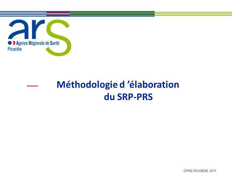 P i c a r d i e DPRS PICARDIE 2011 Méthodologie d 'élaboration du SROMS-PRS