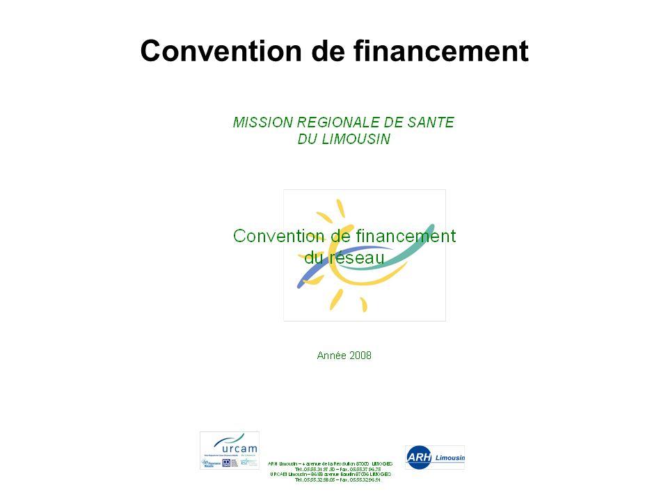 Convention de financement