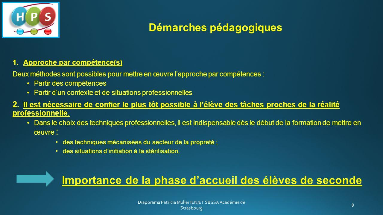 1.Approche par compétence(s) Deux méthodes sont possibles pour mettre en œuvre l'approche par compétences : Partir des compétences Partir d'un context