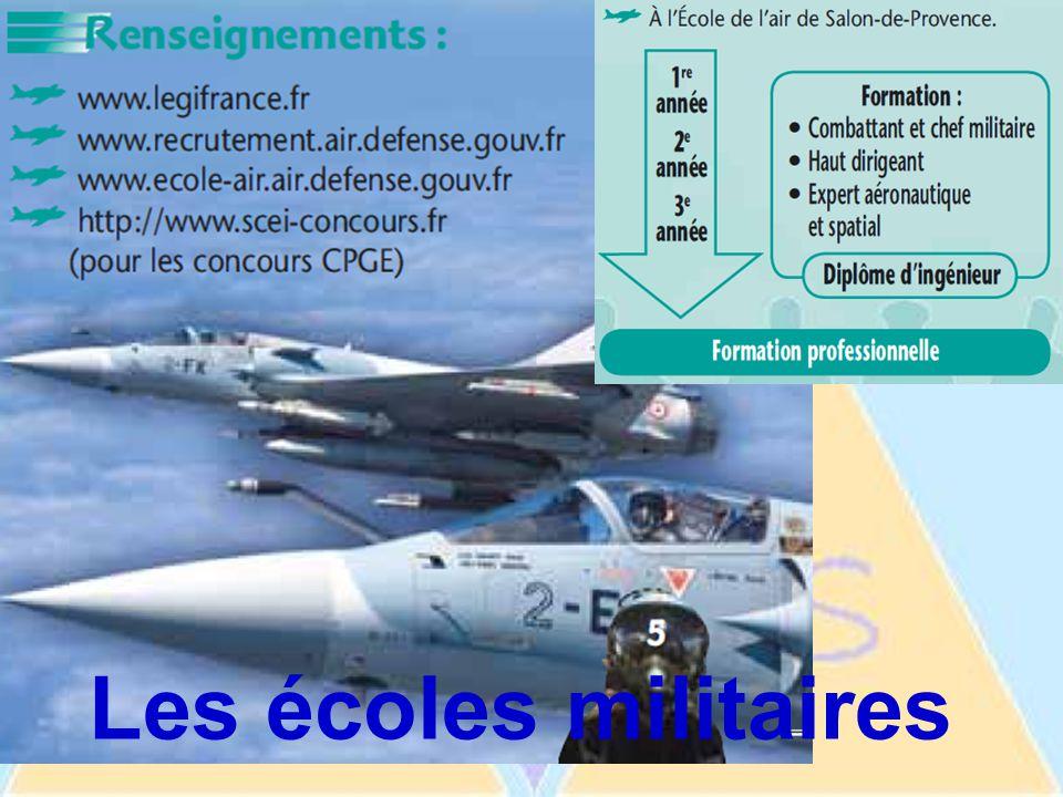 Les écoles militaires