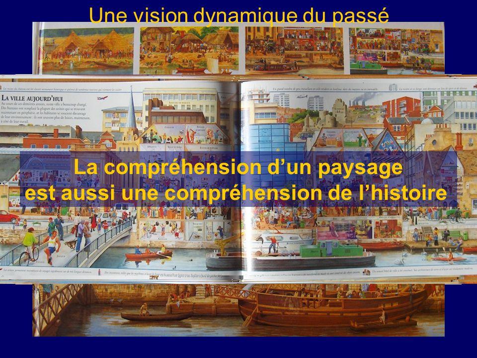 Une vision dynamique du passé La compréhension d'un paysage est aussi une compréhension de l'histoire