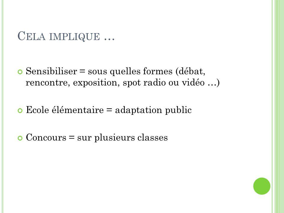 L ES SUPPORTS DE TRAVAIL Spot publicitaire (par ex : ERDF) Images en langue française et en langue étrangère