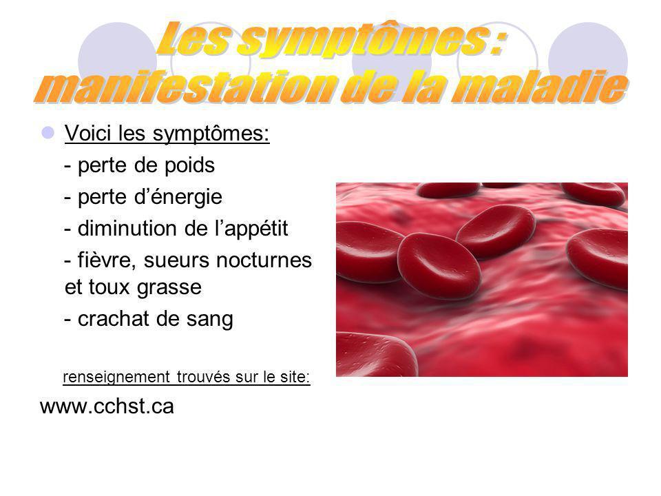 La maladie évolue en 2 parties : - la première infection: cela correspond au premier contact avec le germe.