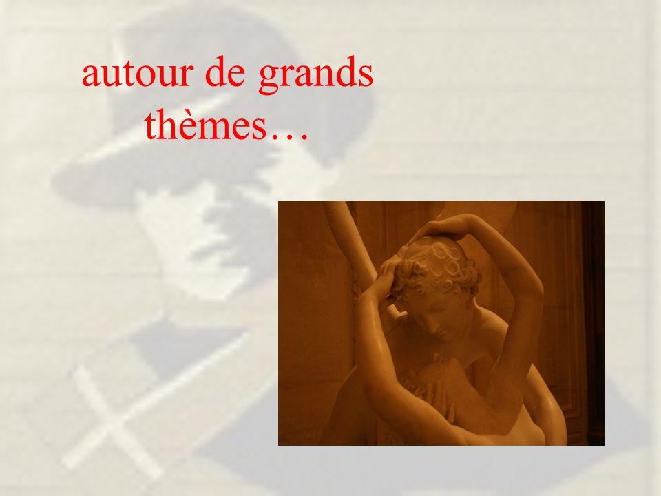 Les espaces de l'art L'Antiquité gréco- latine… …et ses renaissances L'imitation et la narration La découverte des patrimoines