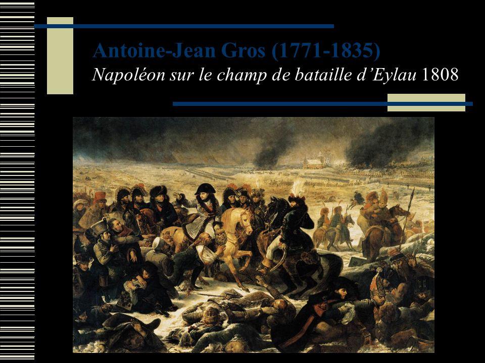 Références des œuvres utilisées DAVID Jacques Louis (1748-1825) Bonaparte franchissant les Alpes au Grand Saint-Bernard, 1801.