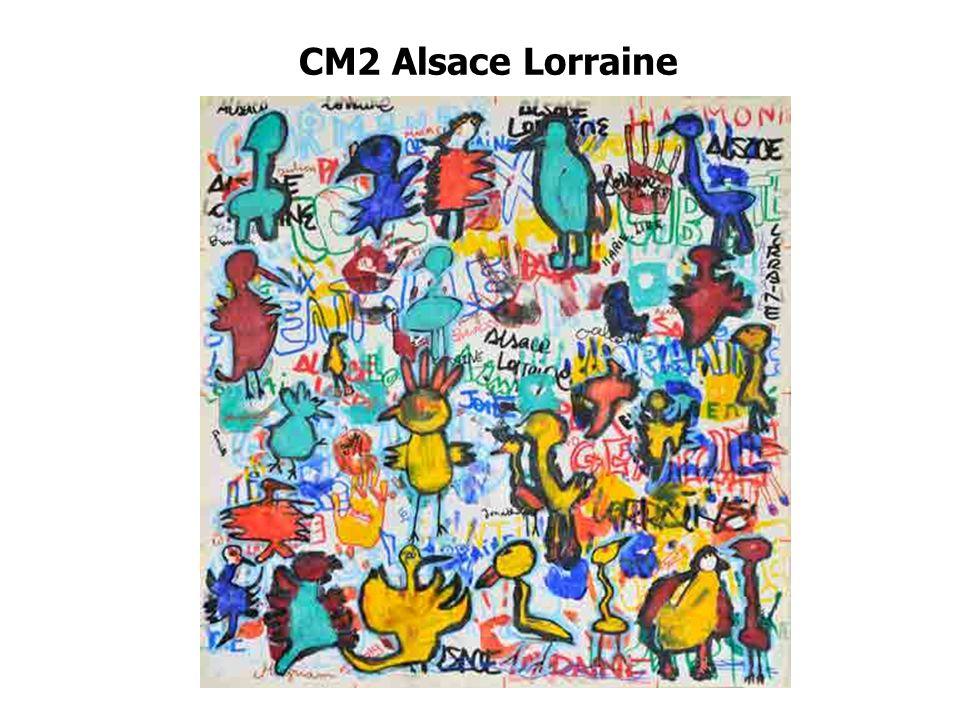 CM2 Alsace Lorraine