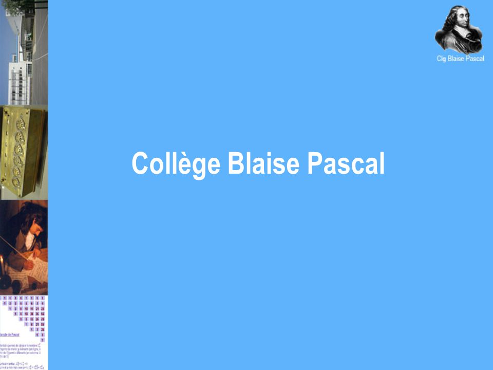 Collège Blaise Pascal
