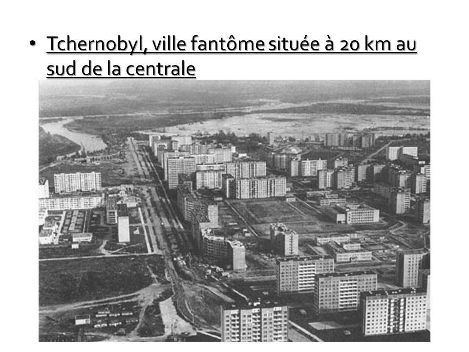Tchernobyl, ville fantôme située à 20 km au sud de la centrale Tchernobyl, ville fantôme située à 20 km au sud de la centrale