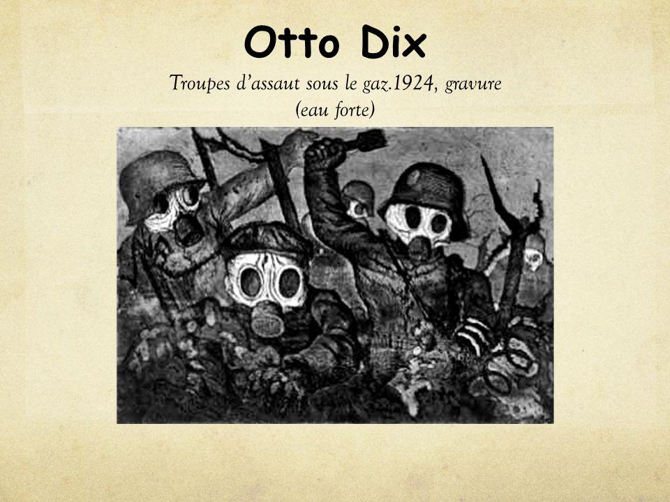 Otto Dix Triptyque de la guerre.1932, tempera sur bois