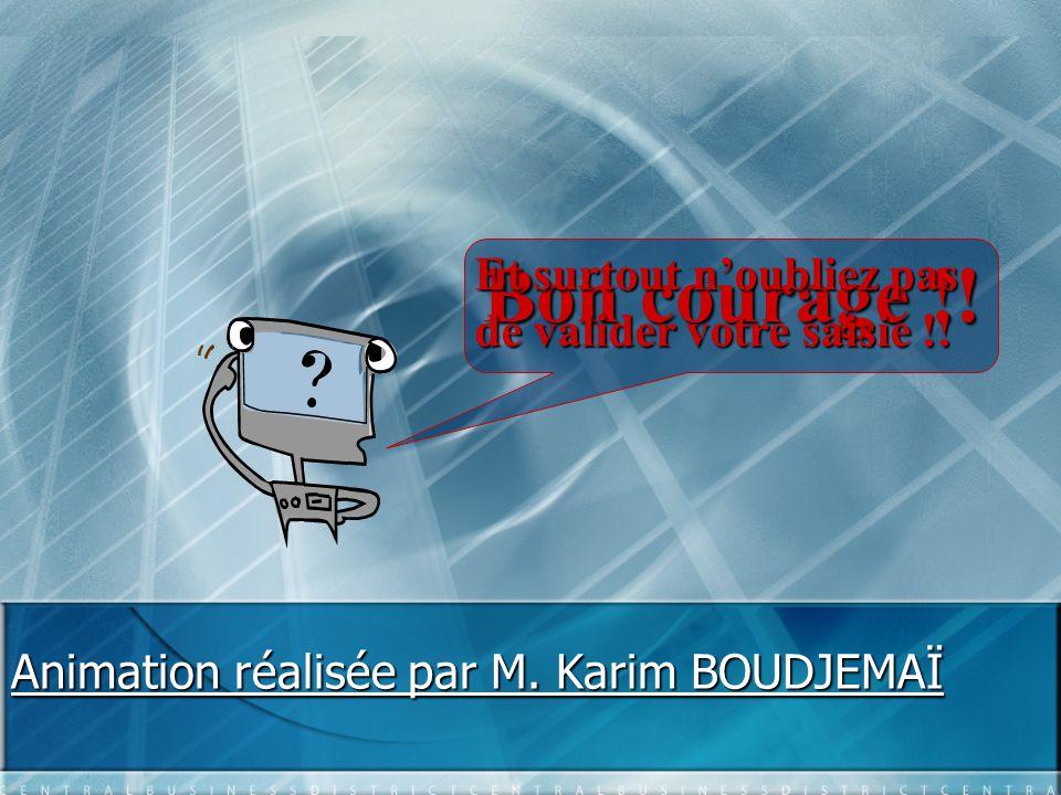 Animation réalisée par M.