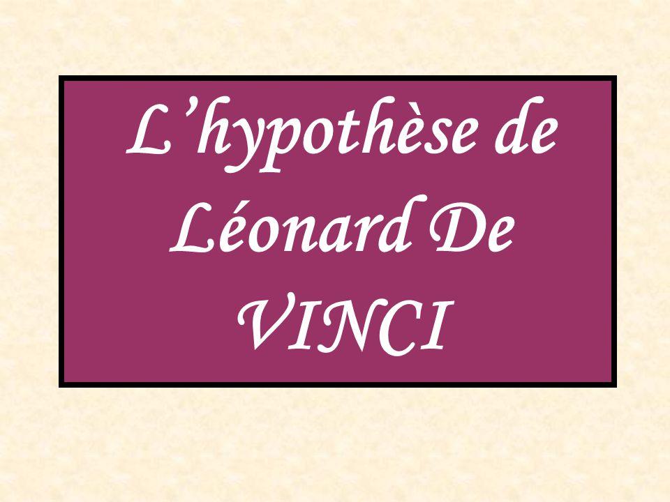 L'hypothèse de Léonard De VINCI
