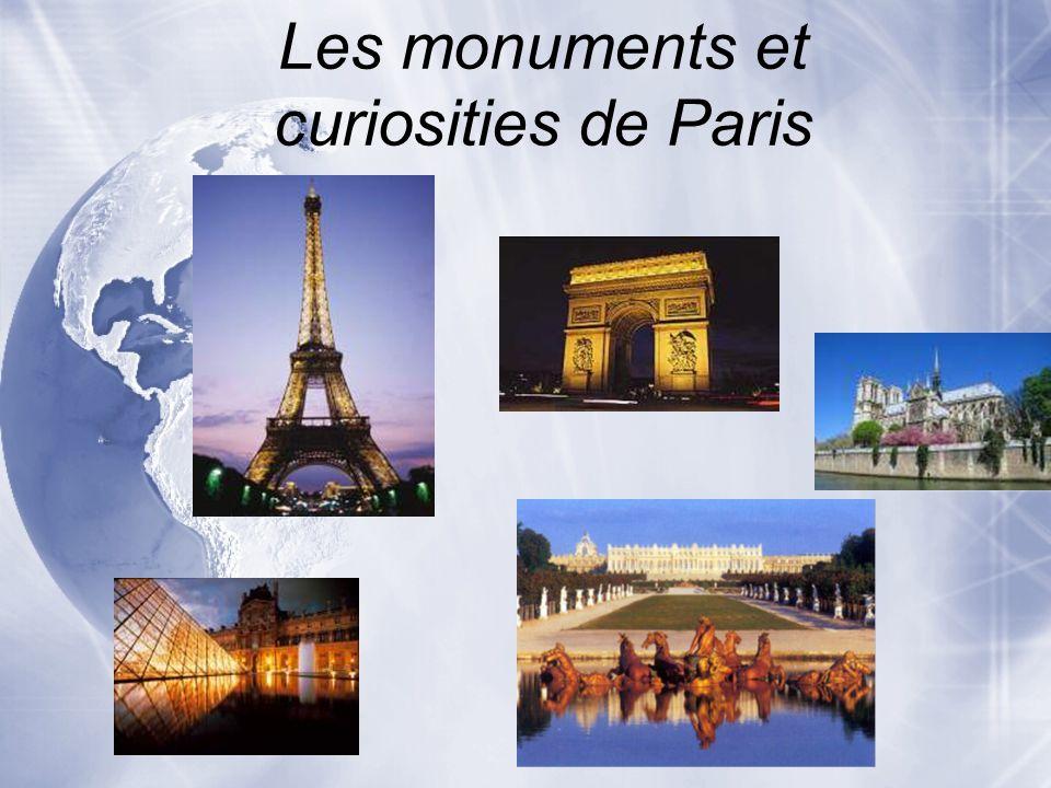 La Tour Eiffel * la structure plus grande de Paris * Pour voir tout de Paris Pourquoi visiter la Tour Eiffel?