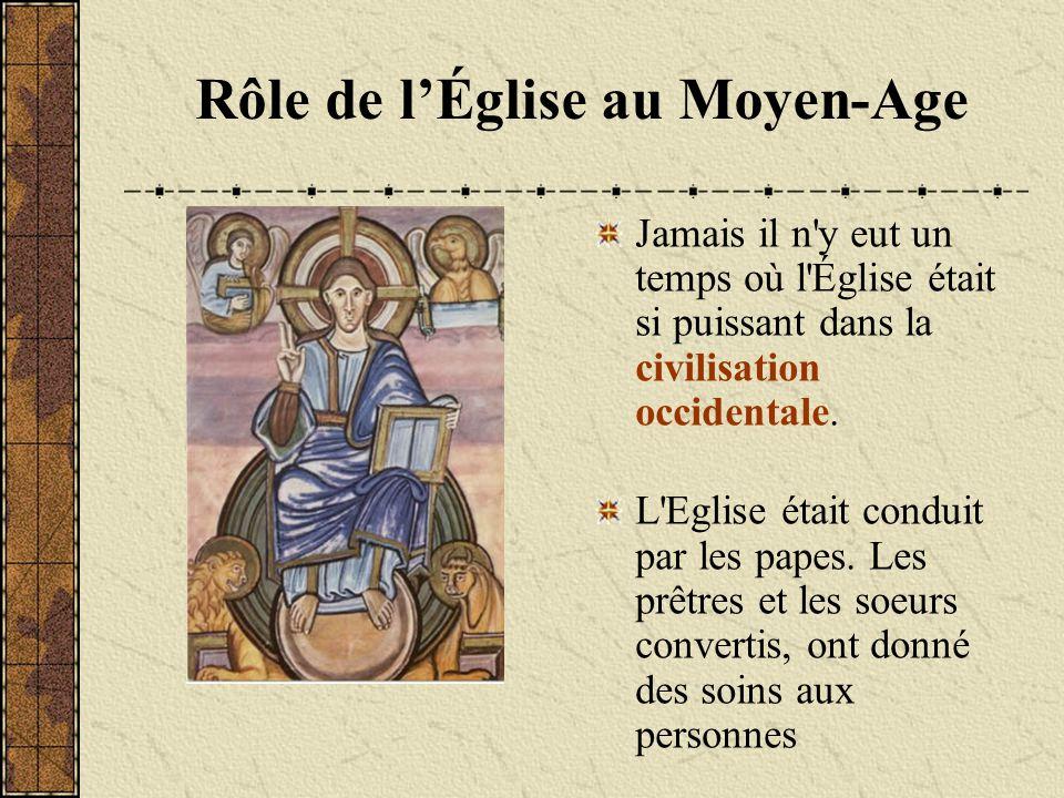 Jamais il n'y eut un temps où l'Église était si puissant dans la civilisation occidentale. L'Eglise était conduit par les papes. Les prêtres et les so