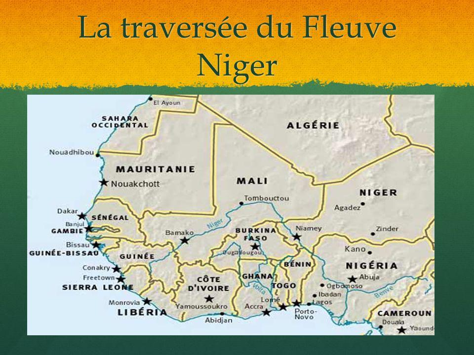 La traversée du Fleuve Niger