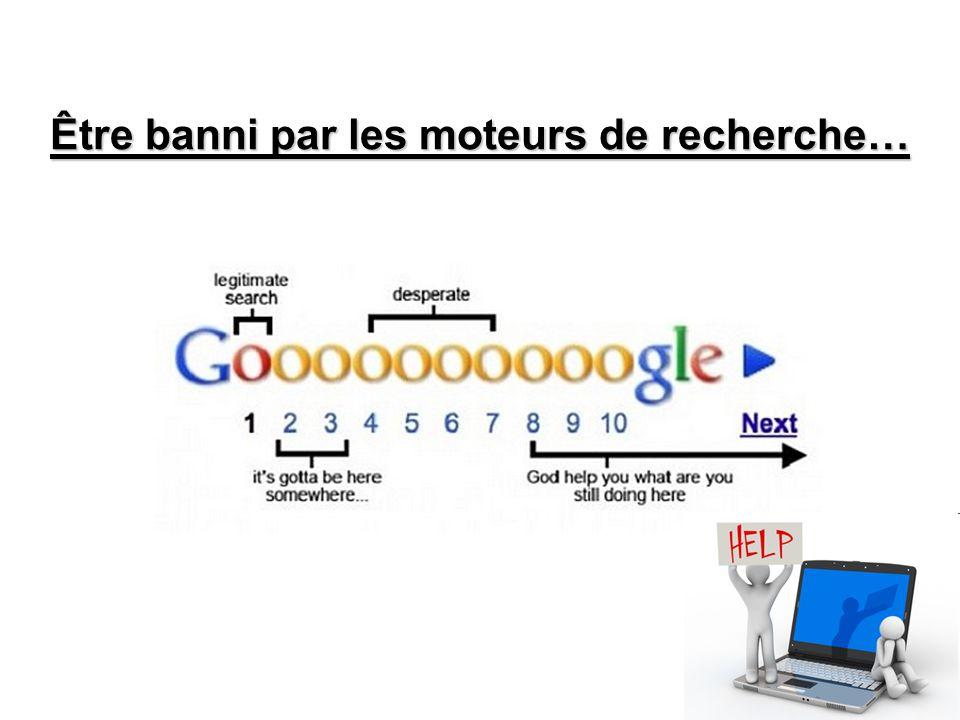 Blacklist La Blacklist : c est la liste de tous les sites frauduleux qui sont exclus des résultats de Google.