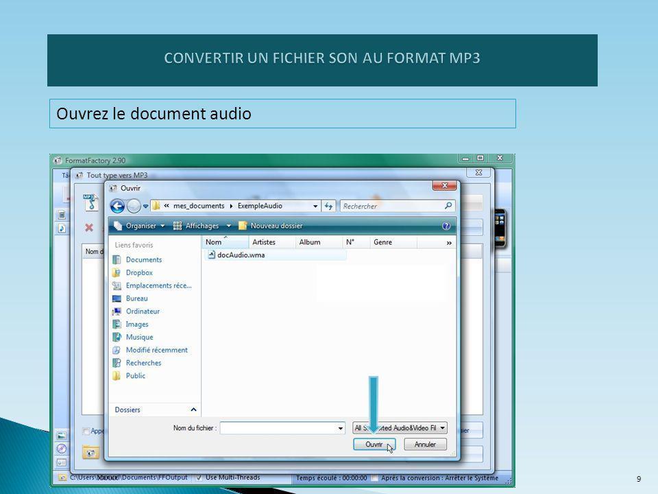 Ouvrez le document audio 9