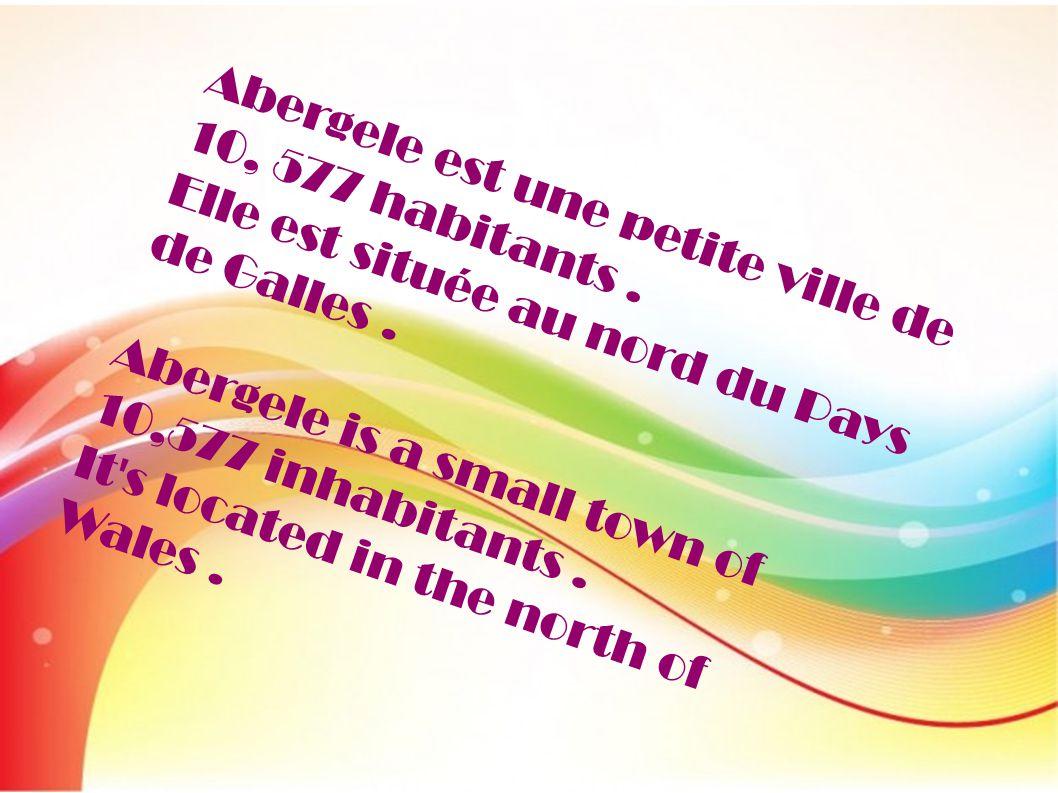 Abergele est une petite ville de 10, 577 habitants.
