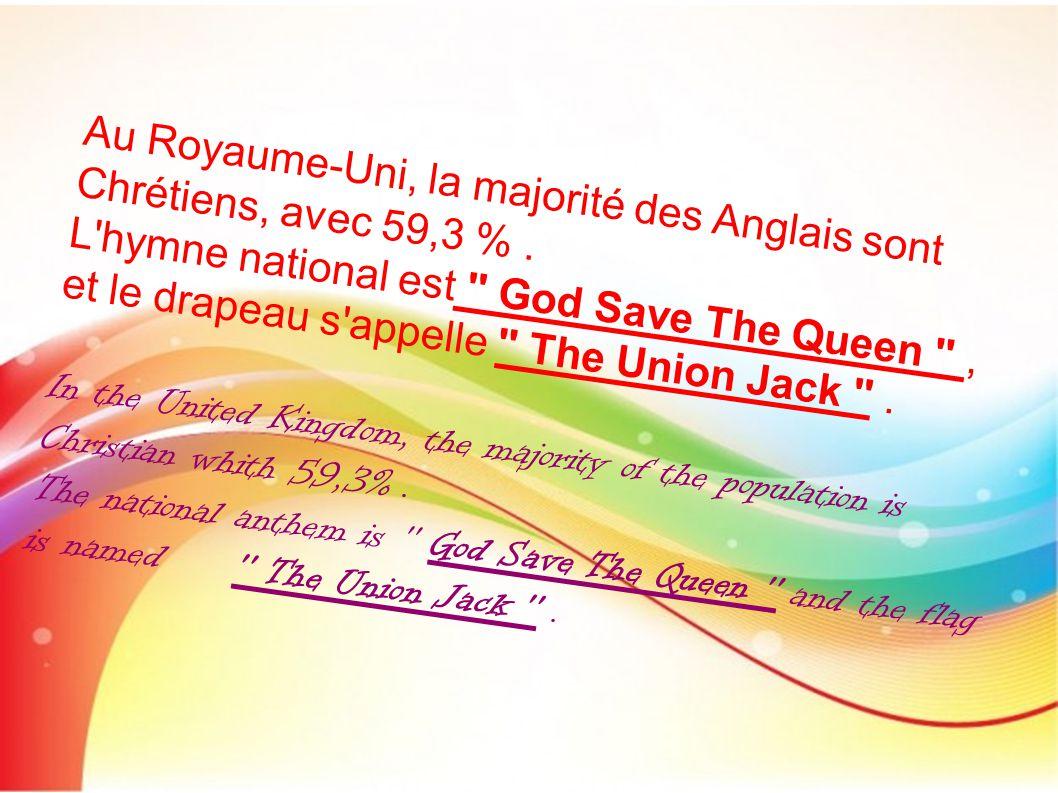 The Union Jack Crédit photo : Google Image