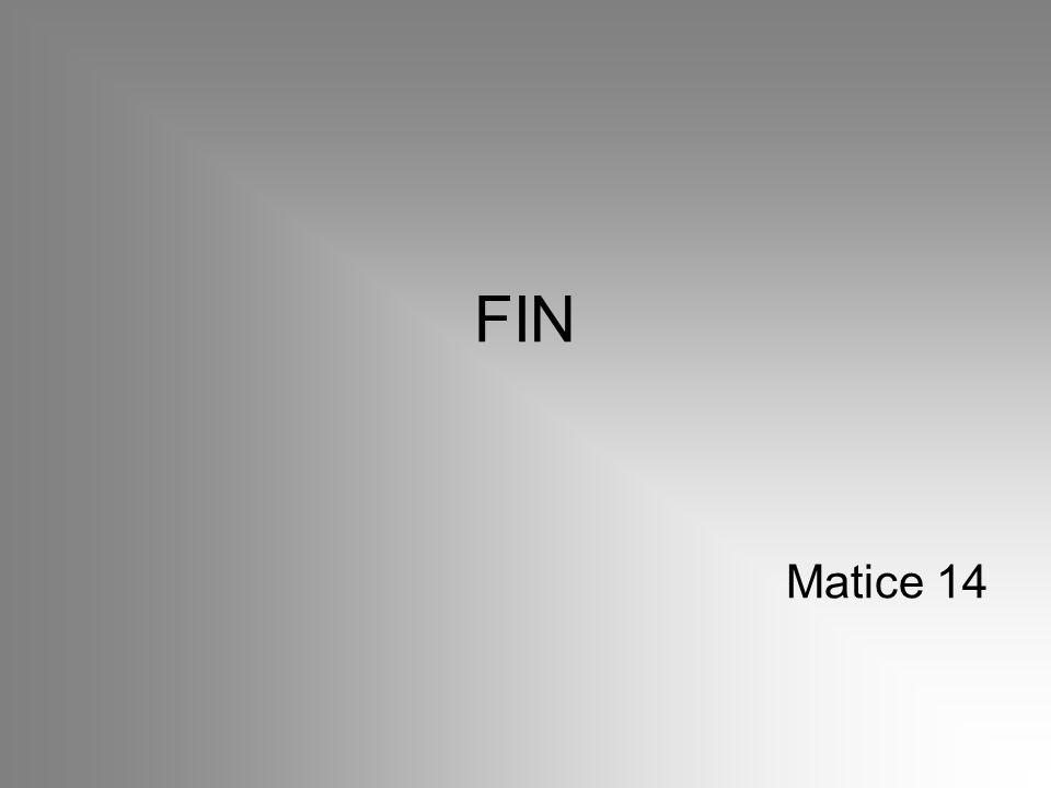 FIN Matice 14