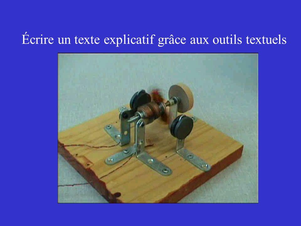 Écrire un texte explicatif grâce aux outils textuels