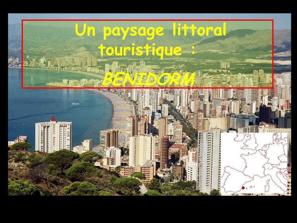 Un paysage littoral touristique : BENIDORM