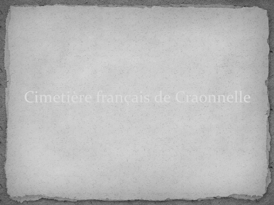 Cimetière français de Craonnelle