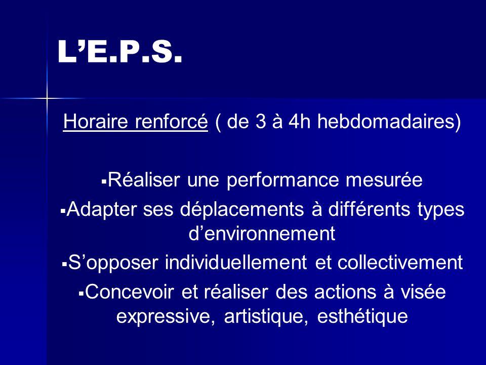 L'E.P.S.