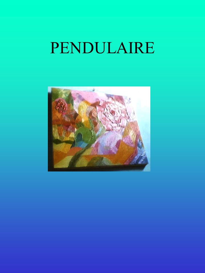 Étoile turquoise Collection privée