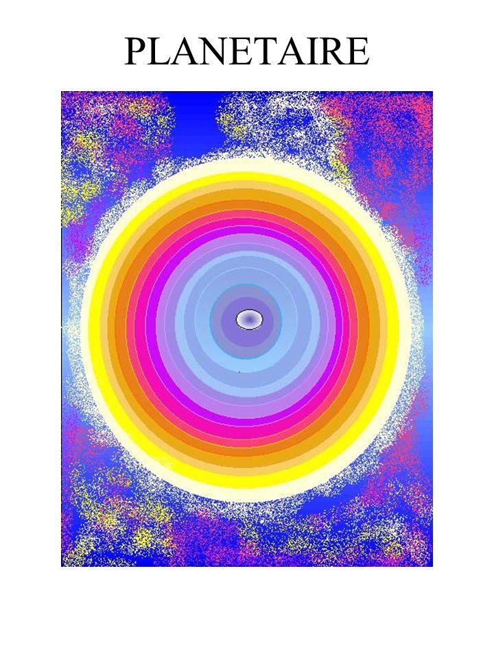 Peintre ROSE MELICHER. Tableaux planétaires. Tableaux radioniques.