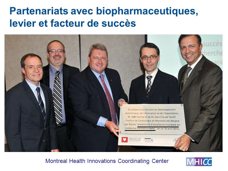 Partenariats avec biopharmaceutiques, levier et facteur de succès
