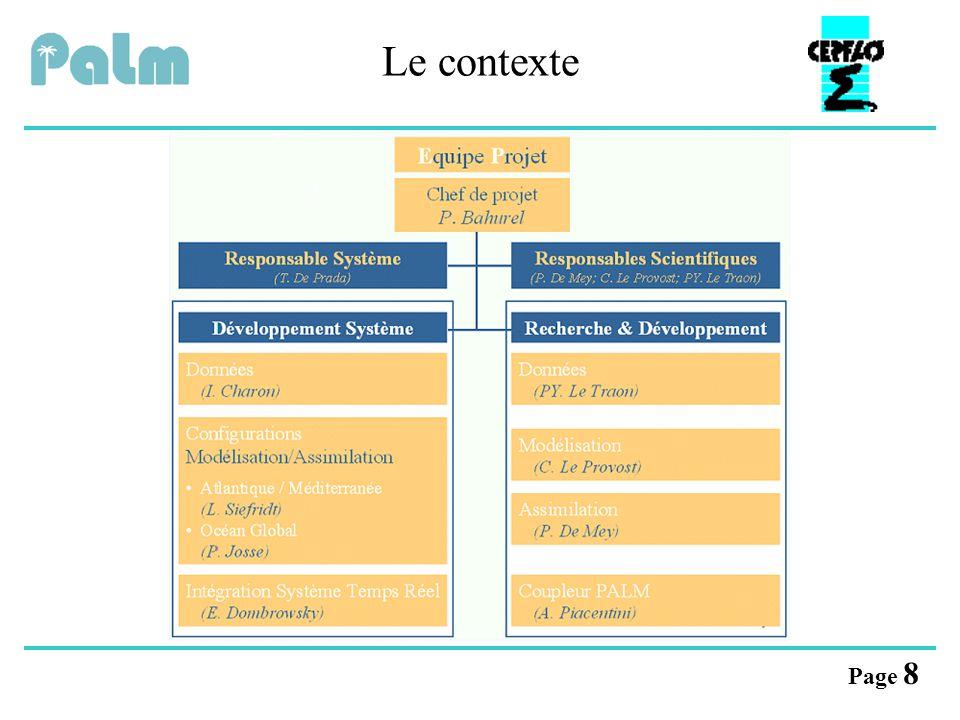 Page 19 implémentation Les critères Flexibilité Performances modularité des applicationsparallélisme portabilité du logiciel PALMcommunications à hautes performances conception
