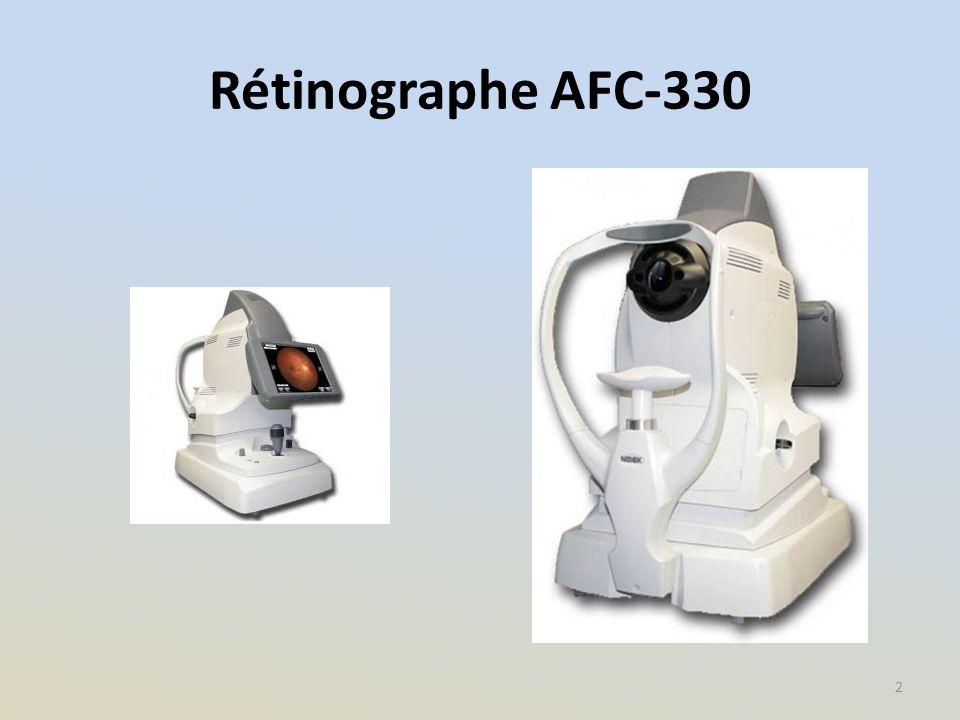 Rétinographe AFC-330 2
