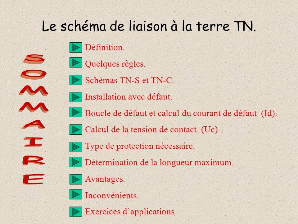 Le schéma de liaison à la terre TN.Définition. Quelques règles.