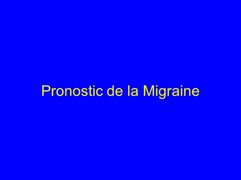 Pronostic de la Migraine