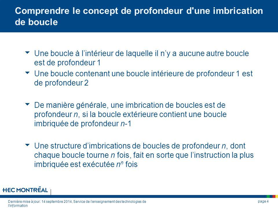 Dernière mise à jour: 14 septembre 2014, Service de l'enseignement des technologies de l'information © École des HEC de Montréal, 2002. Tous droits ré