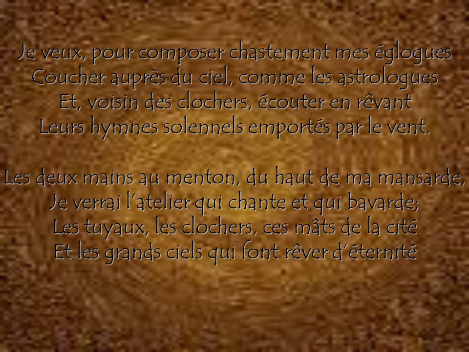 Structure du recueil Spleen et idéal Tableaux parisiens Le Vin Révolte La Mort Allons voir maintenant quel est ce fameux poème…