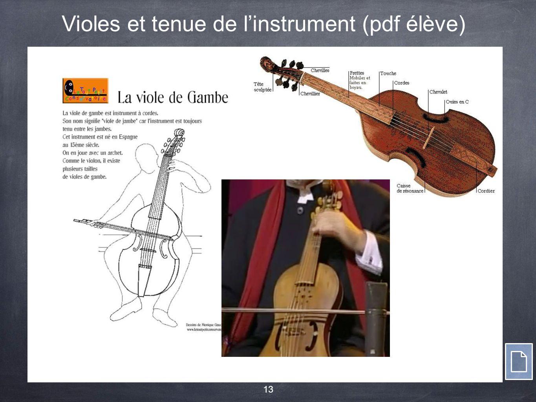 13 Violes et tenue de l'instrument (pdf élève)