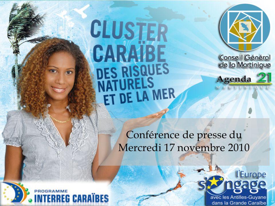 17 Novembre 2010 CaribRiskCluster – Nature du projet CaribRiskCluster consiste à initier la création d'un pôle relatif aux risques naturels, en y associant les entreprises, les centres de recherche et de formation et les collectivités des DFA.