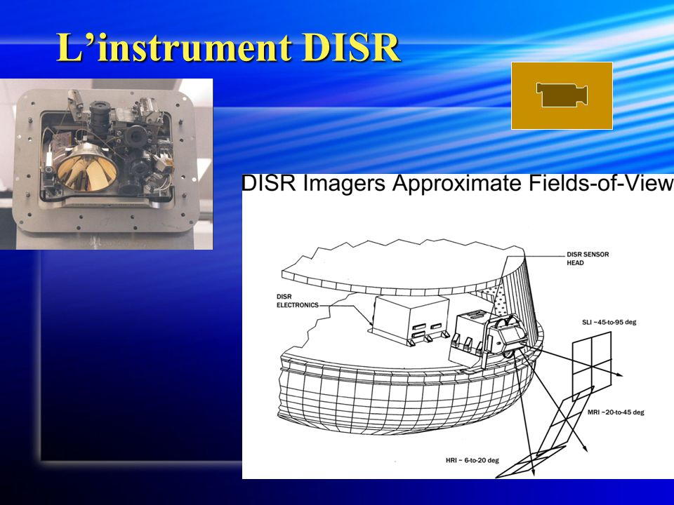 L'instrument DISR