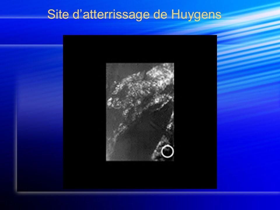 Site d'atterrissage de Huygens