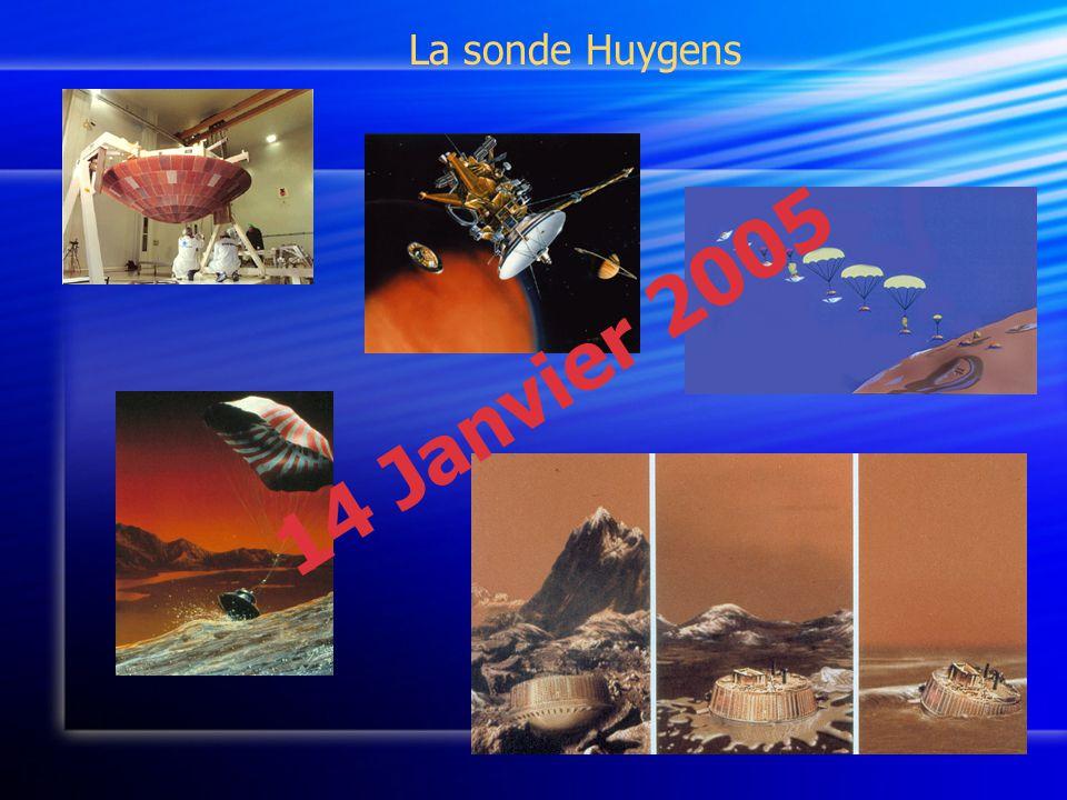 La sonde Huygens 14 Janvier 2005