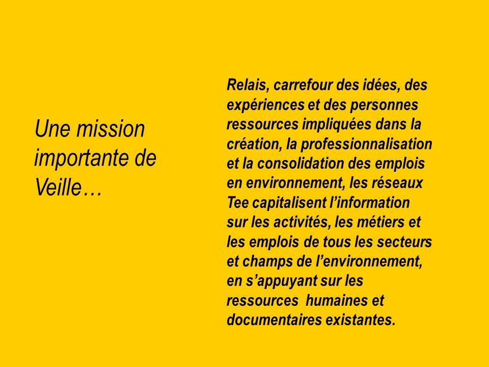 Le développement de la fonction « centre de ressources » est une réponse à la complexité du domaine de l'environnement, du fait de la multiplicité de ses acteurs et de la transversalité de ses problématiques