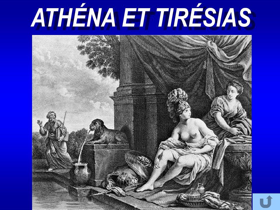 ATHÉNA ET TIRÉSIAS