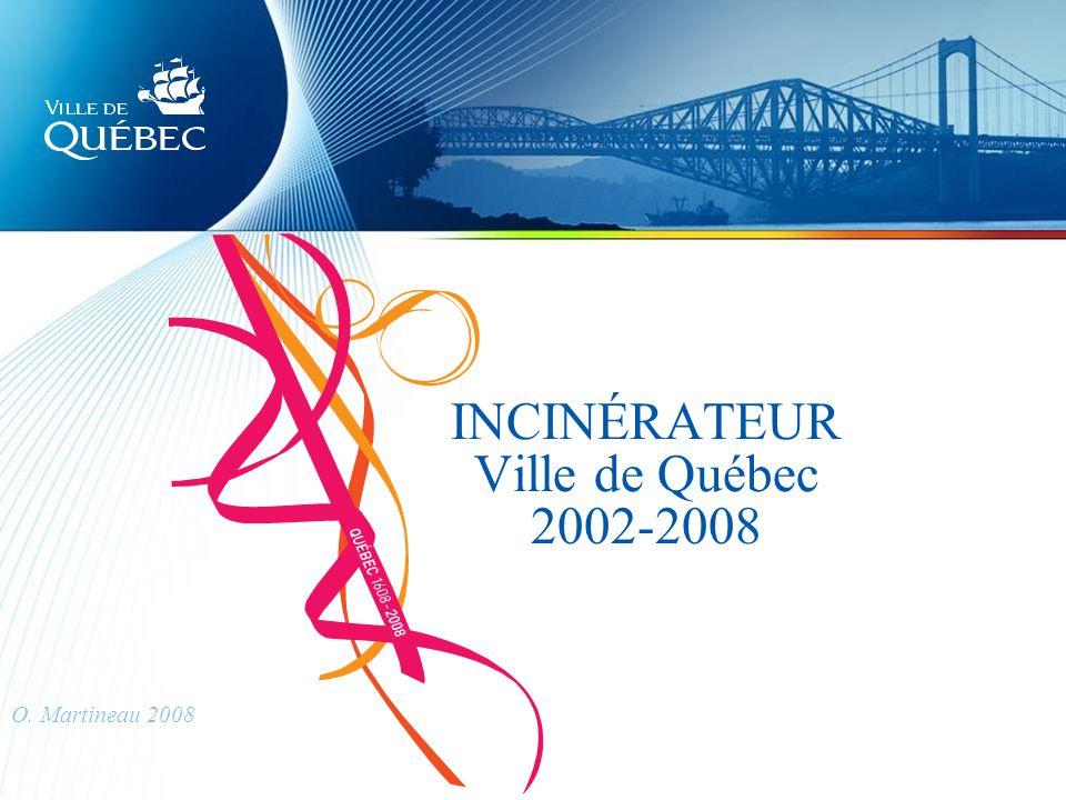 INCINÉRATEUR Ville de Québec 2002-2008 O. Martineau 2008