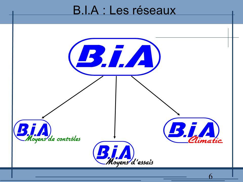 17 B.I.A : Enceinte climatique