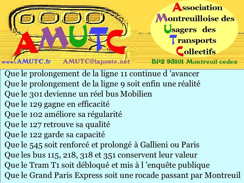 Que le Grand Paris Express soit une rocade passant par Montreuil