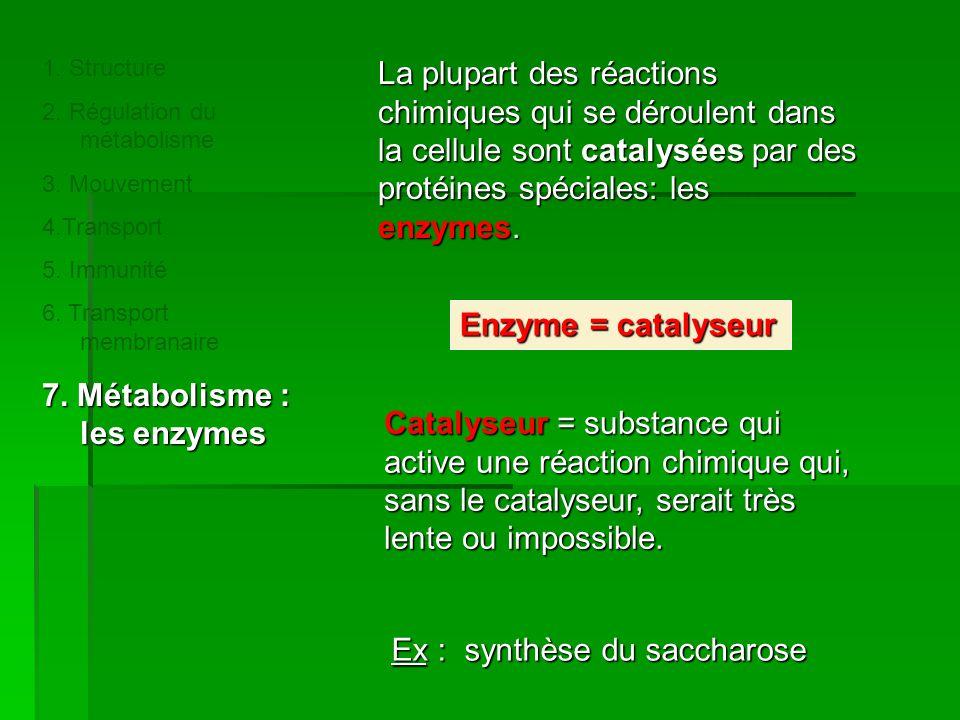 Catalyseur= substance qui active une réaction chimique qui, sans le catalyseur, serait très lente ou impossible.
