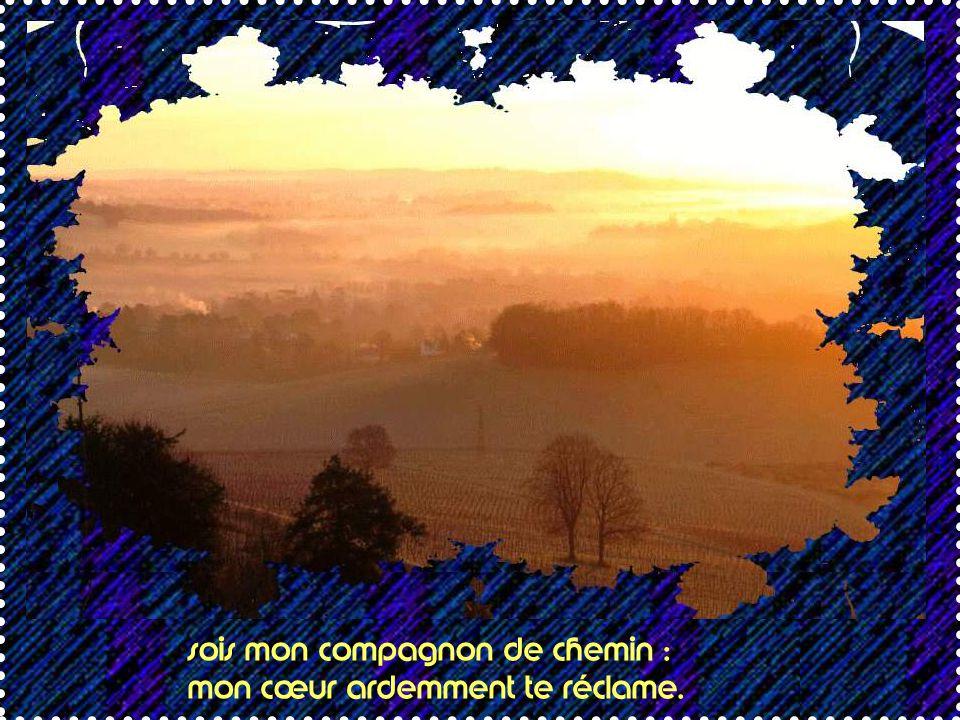 1 - Dans le silence du matin, ô Jésus, descends dans mon âme,